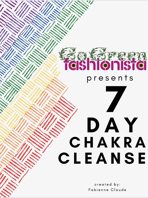 7 Day Chakra Cleanse  + Chakra Pen