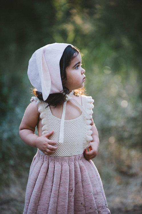Organic Flannel Bunny Hat
