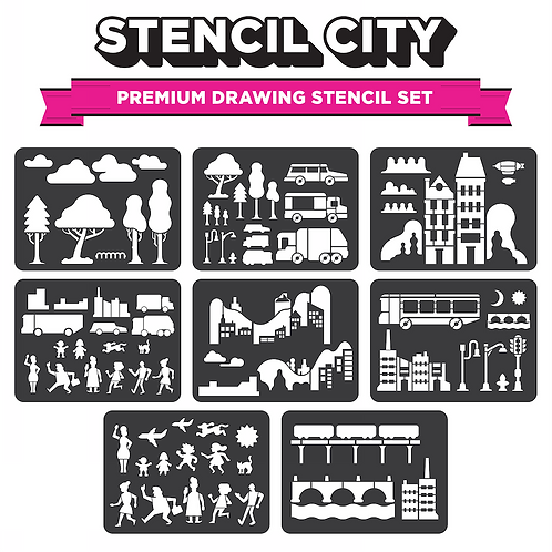 Stencil City - Drawing Stencils