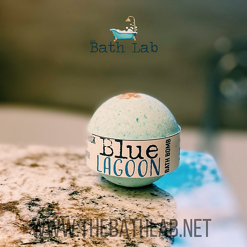 Blue Lagoon Bath Bomb