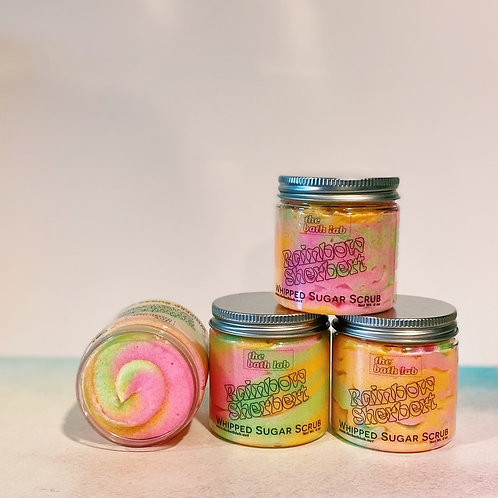Rainbow Sherbet Whipped Soap