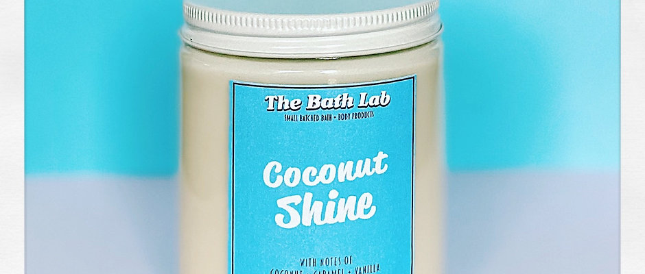 Coconut Shine Soy Candle
