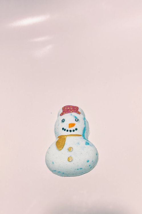 Frosty The Cutie  | mini snowman bath bomb