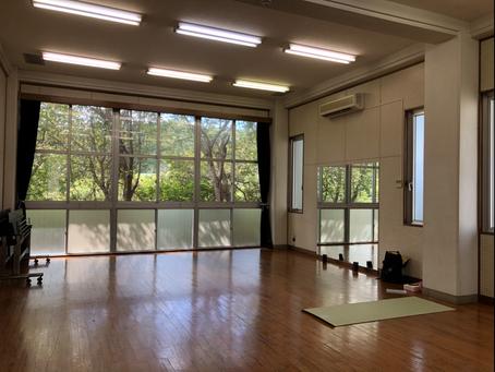 新しいスタジオ