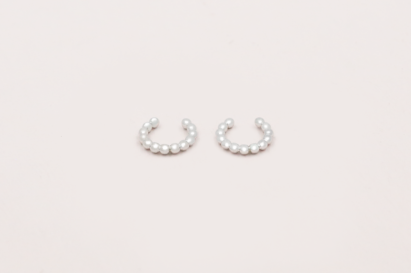Iva Ear Cuffs in Silver