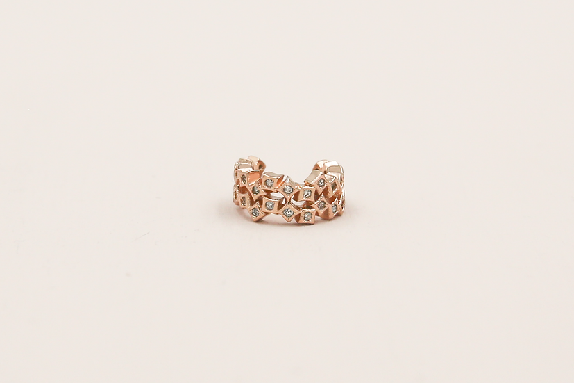Etta Earcuff in Rose Gold