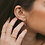 Thumbnail: Mila Evil Eye Earrings in Gold