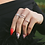 Thumbnail: Estelle Dainty Ring in Silver