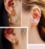 Ally jewelery fashion earrings and earcuff