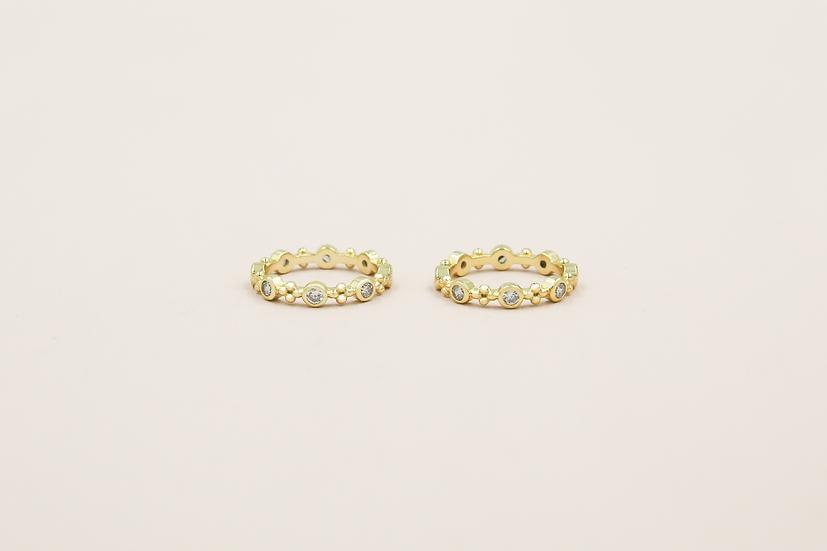 Roselle Ring in Gold