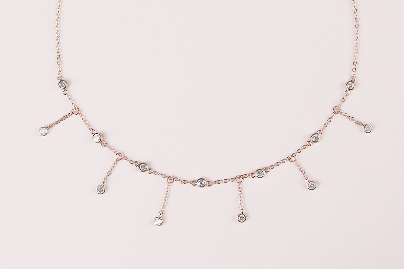 Emilio Choker in Rose Gold