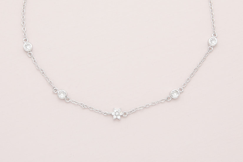 Chayce Necklace in Silver