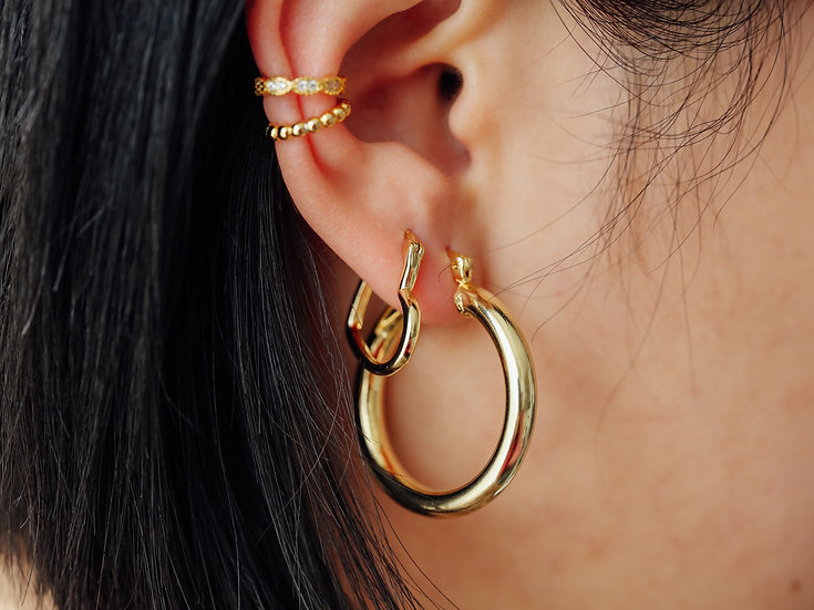 Arieta Love Hoops in Gold
