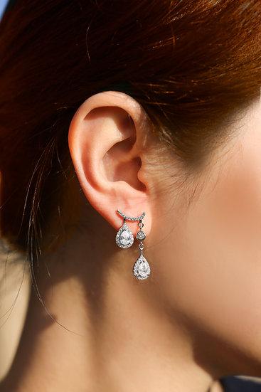 Alita Earring in Silver