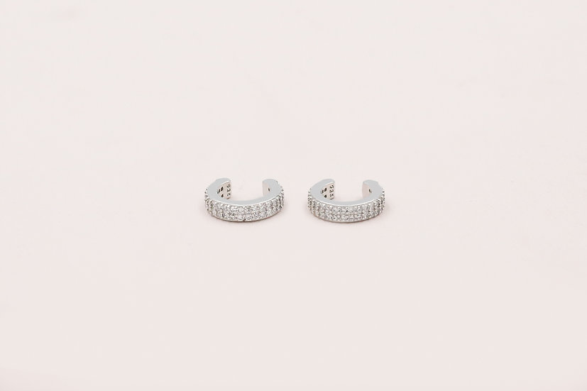 Tilly Ear Cuffs in Silver
