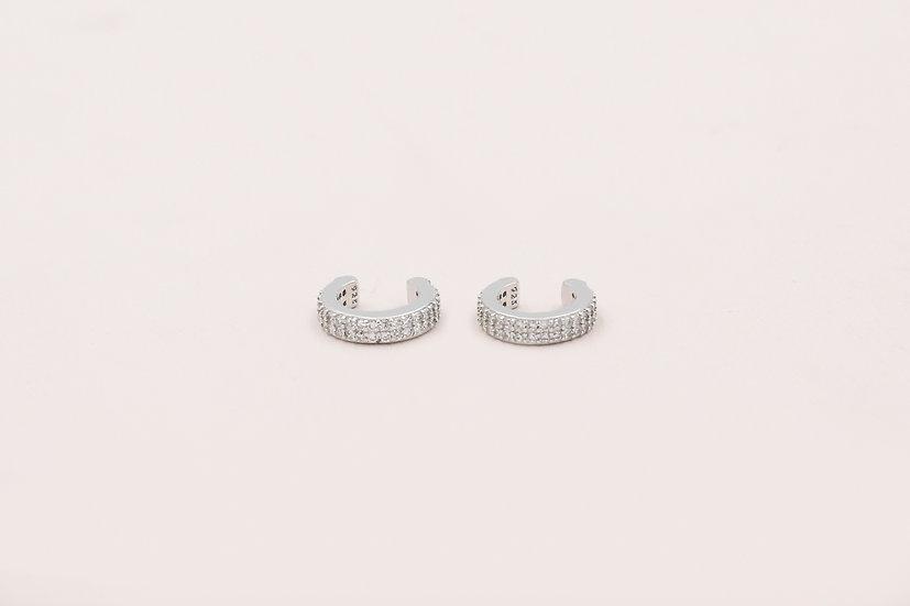 Tilly Ear Cuffs in Silver
