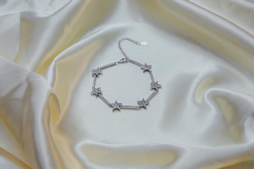 Remy Stars Bracelet in Silver
