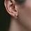 Thumbnail: Aralyn Evil Eye Studs in Rose Gold