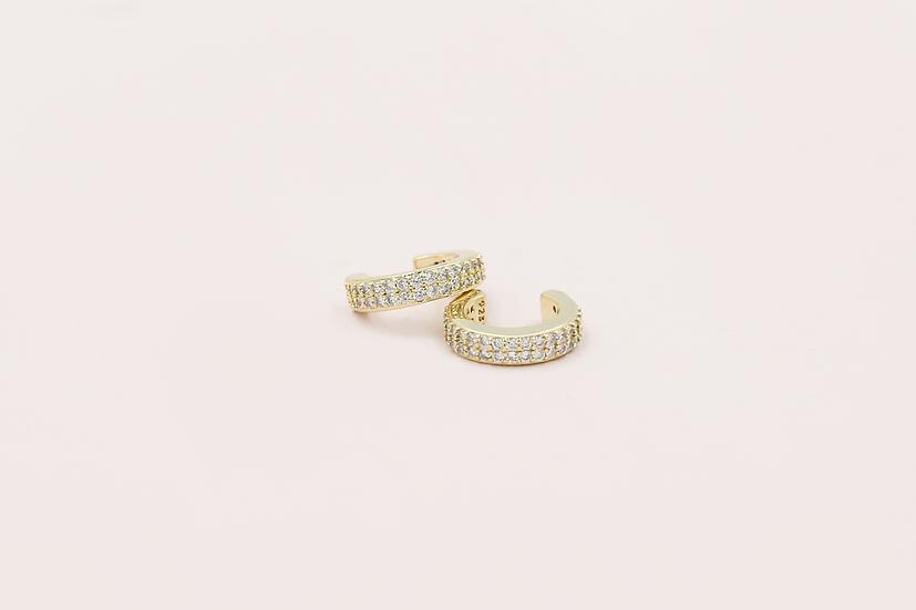 Tilly Ear Cuffs in Gold