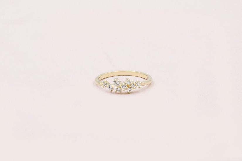 Estelle Dainty Ring in Gold
