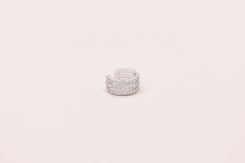 Giselle Ear Cuff in Silver