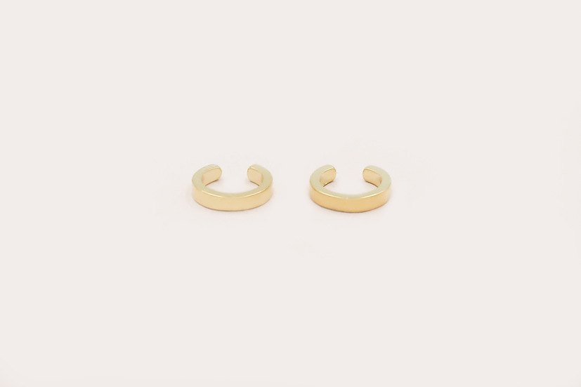 Orva Ear Cuffs in Gold