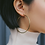 Thumbnail: Riva 60mm Hoops in Gold