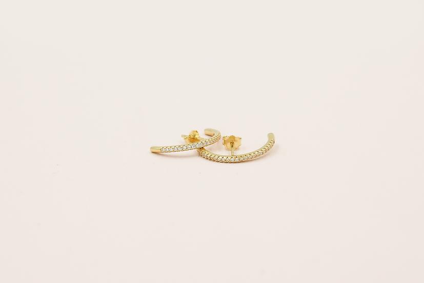 Monka Earrings in Gold