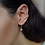 Thumbnail: Mila Starburst Earrings in Gold
