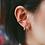 Thumbnail: Zurie Ear Cuffs in Gold