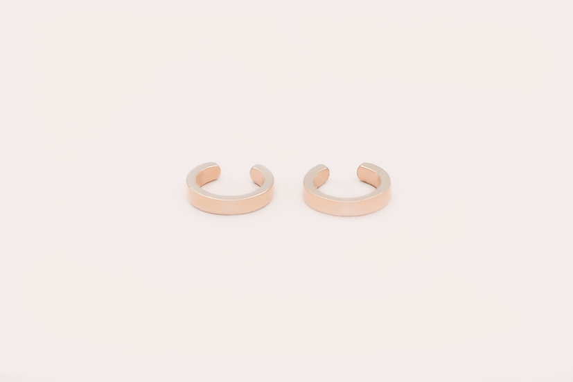 Orva Ear Cuffs in Rose Gold
