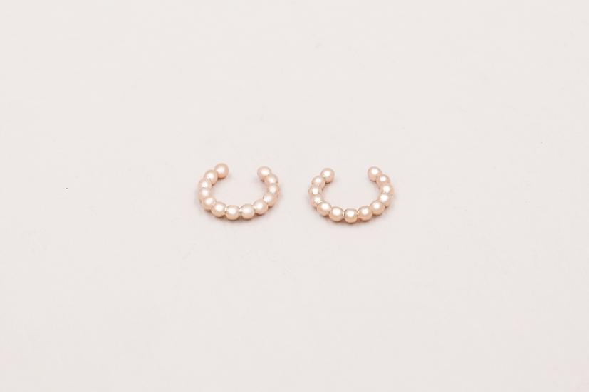 Iva Ear Cuffs in Rose Gold