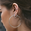 Thumbnail: Arieta Love Hoops in Silver