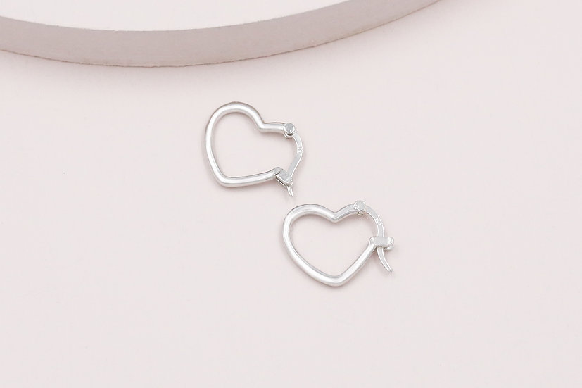 Arieta Love Hoops in Silver