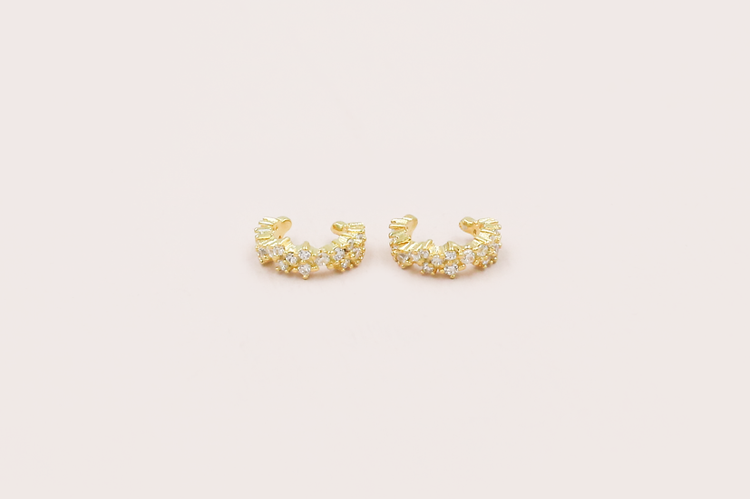 Zurie Ear Cuffs in Gold