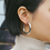 Thumbnail: Lucie 45mm Hoops in Silver