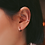 Thumbnail: Roi Ear Cuffs in Rose Gold