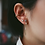 Thumbnail: Zanne Ear Cuffs in Gold