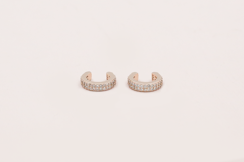 Tilly Ear Cuffs in Rose Gold