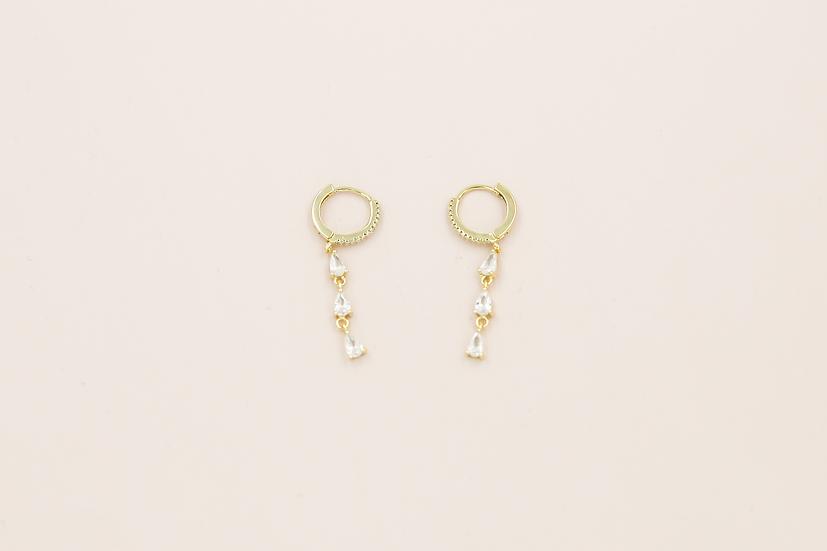 Clara Earring in Gold
