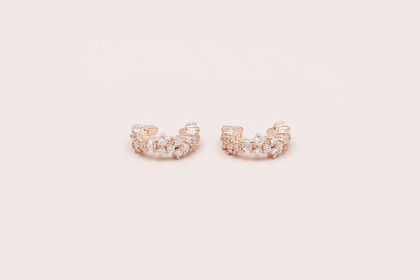 Zurie Ear Cuffs in Rose Gold