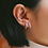 Thumbnail: Roi Ear Cuffs in Silver