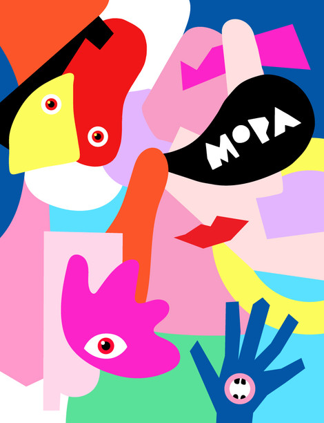 Museum of Play and Art Geelong MoPa Illustration