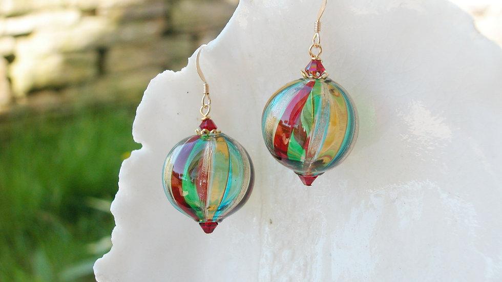 Blown Murano Glass Earrings