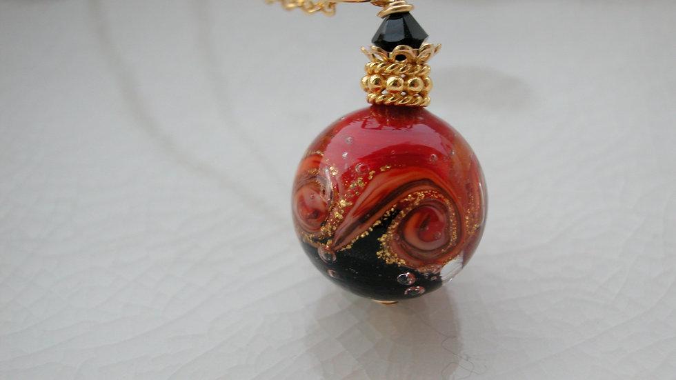 Bicolour Murano Glass Necklace