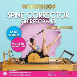 Spine corrector on reformer  junio 2021
