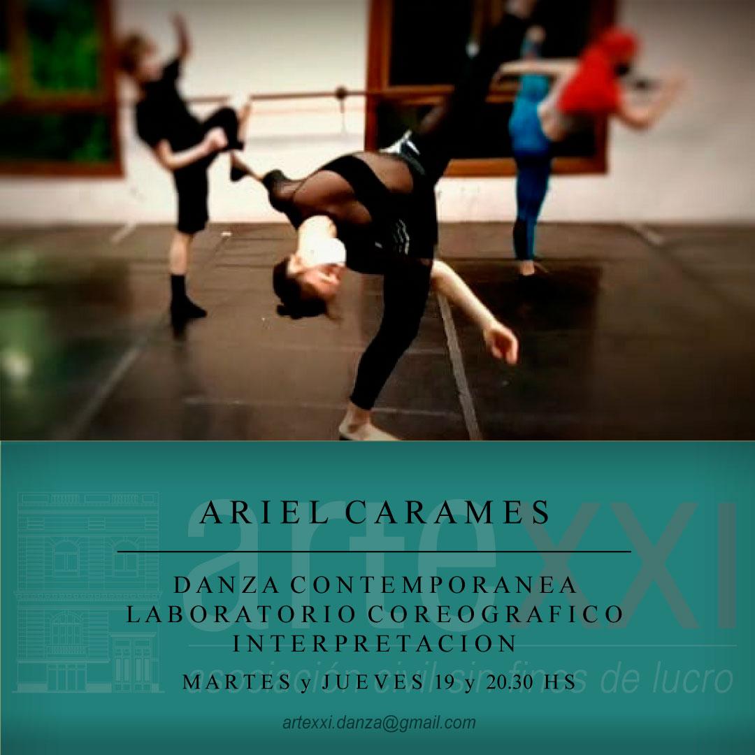 Laboratorio Coreográfico en Danza Contemporánea