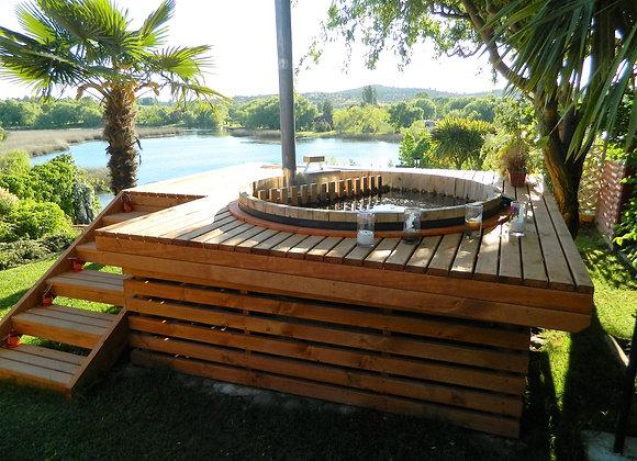 Terrazas o Deck para Tinas Calientes