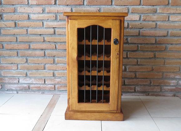 Cava de vinos madera pino