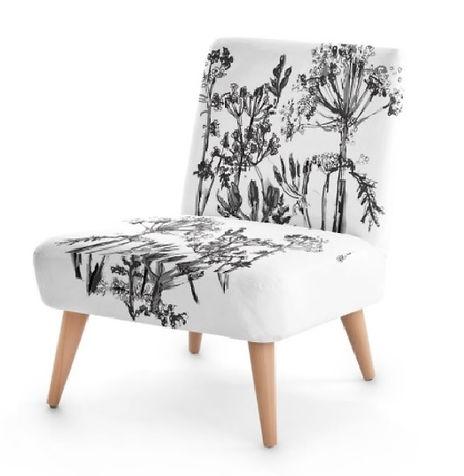 Black and White monochrome Chair